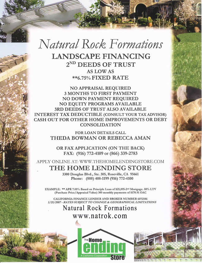 financing Natural_Rock_Flyer